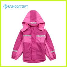 Waterproof Children′s PU Ski Suit Rum-018