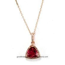 Especial de diseño y 2015 plata AAA Zircon Piedra clave colgante de joyería al por mayor P5020