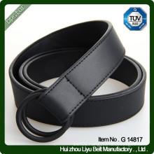 Leather Men's Casual Belt D - Ring Belt