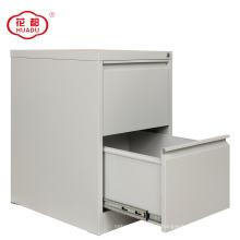 Armário de arquivo vertical do armazenamento do metal de 2 gavetas
