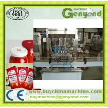 Máquina de embalagem de sachê de pasta de tomate