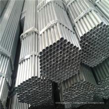 Tuyau en acier pré-galvanisé rond structurel en carbone