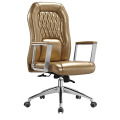 High Quality Middle Back Leather Office Meeting Chair (HF-B1505)