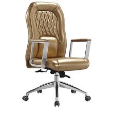 Cadeira de reunião de escritório de couro de segunda mão de alta qualidade (HF-B1505)