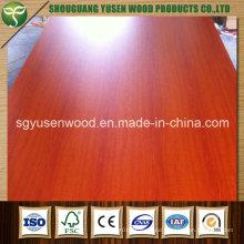 Red Wood Grain Melamine MDF