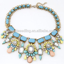 exaggerated temperament wholesale chunky statement necklace in china
