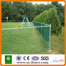 clôture de lien de chaîne de filet de sport