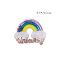 нашивка для вышивания Garment Apparel Accessories Badges Rainbow