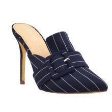 Women's Casual Sandals Near Toe Buckle Slippers High Heels