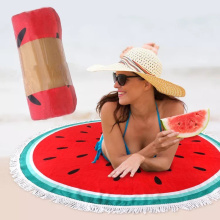 low price design your own beach towels Watermelon