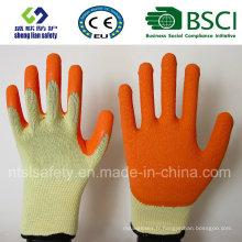 Gant de travail en sécurité recouvert de latex de polyester 10 g (R501)