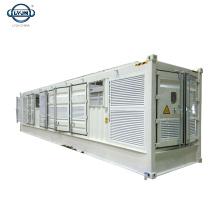 Tianjin LYJN 40 pies de almacenamiento en frío solar Envases fríos