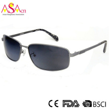 Дизайнерский металлический поляризованный глазный солнцезащитный очки для хорошего джентльмена