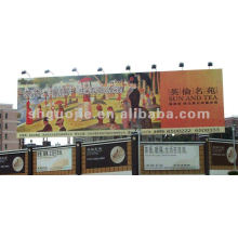 Heavy nylon reinforced vinyl banner fabric