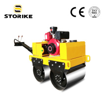 Rodillo compactador vibratorio para peatones dobles de 500 kg