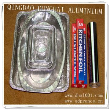 Papier d'aluminium ménager