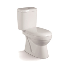 055A Economic Two Piece Toilet with PP Closet Cover