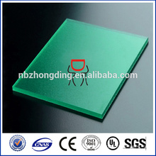 color customized PC plastic polycarbonate frosted sheet