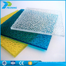 10-years warranty 8mm single wall recycled polycarbonate sheet