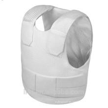 Resalte el chaleco oculto a prueba de balas Nivel III-A de color blanco hecho