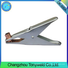 500A Italy OK type tig ground clamp earth clamp