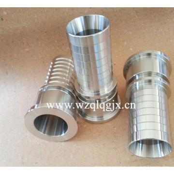 Tubo de ajuste de acero inoxidable Partes de la máquina CNC Manguera Pezón
