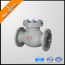 H44 Flanged connection Swing start structure WCB material PN16 check valve