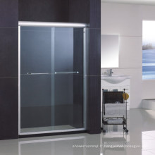 Porte de douche de bypass / écran de douche avec le revêtement nano facile à double-côté facile