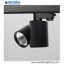 Projecteur de voie à LED à distance modulable à 2/3 phase