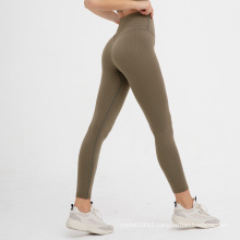 High-Waisted Seamless Rib Legging