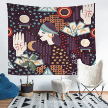 Using 3D Printing Tech, Tarot Pattern Tapestry