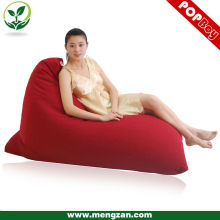 2013 comfortable shell shaped bed chair bean bag, triangle beanbag