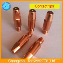 Binzel copper M8 contact tip