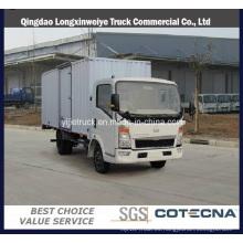 Carro ligero de HOWO de Sinotruk con el camión ligero del cargo / del cargo