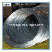 Alambre de hierro galvanizado electro directo de la fábrica