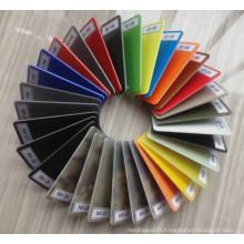 Feuille multicolore multicolore G10 pour la poignée de couteau