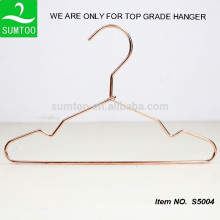 copper clothing hanger