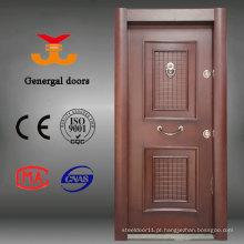 Portas blindadas de madeira em aço estilo turco para exterior