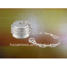 guillemin coupling cap with latch with chain