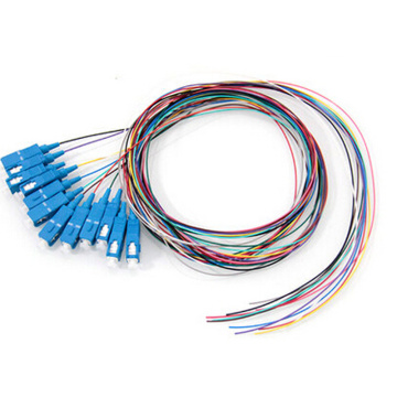 Pigtail Fiber Optik SC UPC 0.9mm 12 Cores