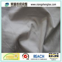100% Polyester Streifen Samt Trikot Gebürstet Stoff