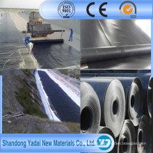 Geomembrana do HDPE de 2mm para o forro da lagoa