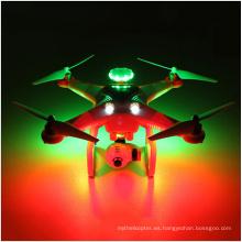 5.8g Dual GPS Fpv RC portátil Drone 3D Rolling LED Flash Helicóptero sin cabeza Quadcopter