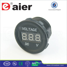 Daier Marine Waterproof 12V-24V Car Cigarette Lighter Voltmeter Power Outlet Socket