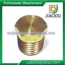 1/8'' or 1/4'' or 3/4'' or 1'' high quality cw614n cw617n brass/copper valve cap for pex pipes