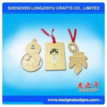 Marcador de metal personalizado para regalo