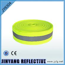 Polyester adhesive tape printed webbing reflective fabric ribbon