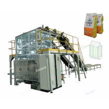 Automatic Bag Feeding  Secondary Packaging Machine