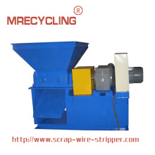Double Shafter Cable Wire Crusher