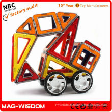 Bâtiments en plastique magnétique jouets enfants comme